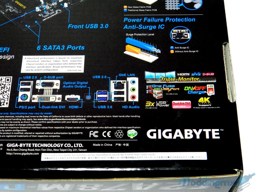 Review - GIGABYTE F2A78M-D3H - HardwaReviews