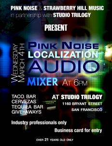 pink noise gdc